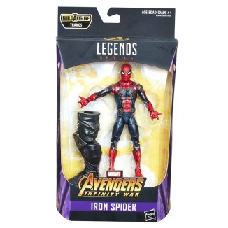 MARVEL AVENGERS INFINITY WAR LEGENDS SERIES 6-INCH Figure Assortment (Iron Spider) - in pkg